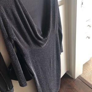 Boo Hoo BodyCon Sparkly Draped Dress 12